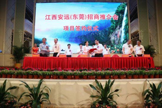 13家企业签约投资江西安远 签约额达48.5亿元