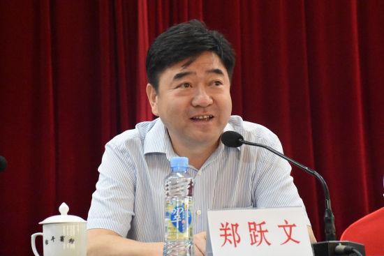 科瑞集团有限公司董事局主席、江西省慈善总会副会长郑跃文讲话