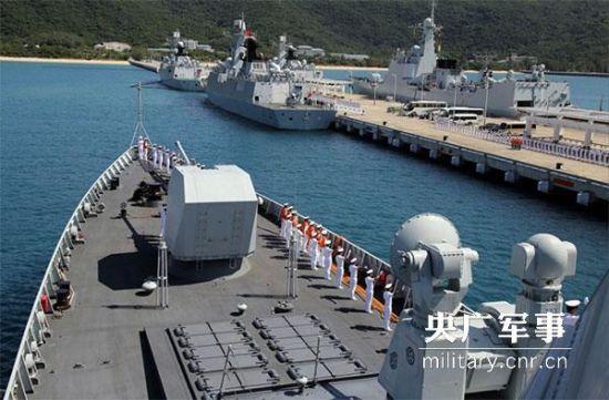 """中国海军174舰艇编队远征近百天 创造多项""""首次"""""""