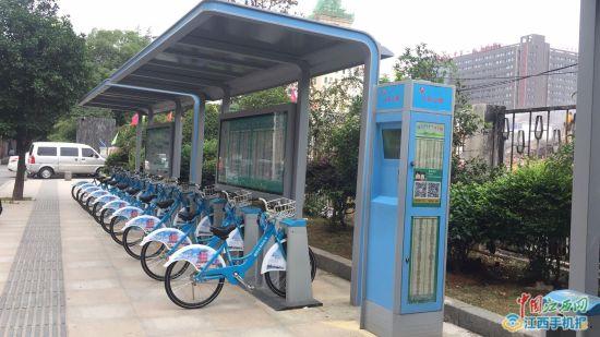 南昌公共自行车9月30日正式在老城区运营