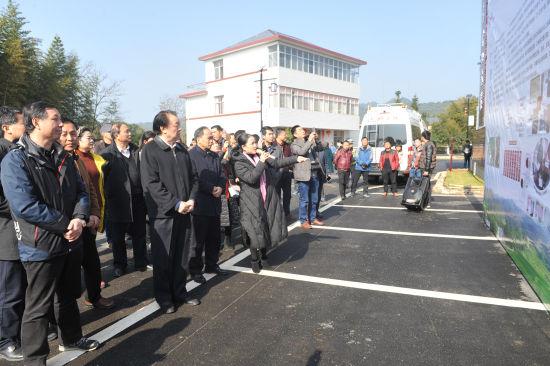"""12月18日,""""三家""""专项行动总结交流会走进江西宜丰县。"""