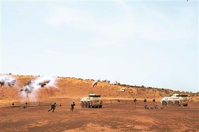 中国第5批赴马里维和警卫分队:46秒全员全装集结