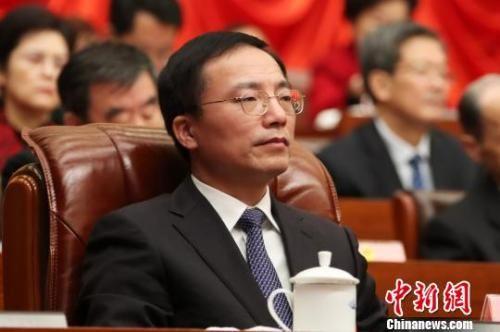 胡世忠当选江西省人大常委会副主任(图