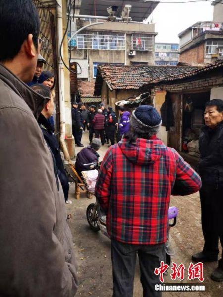 江西南昌老城区发生一起房屋坍塌事件