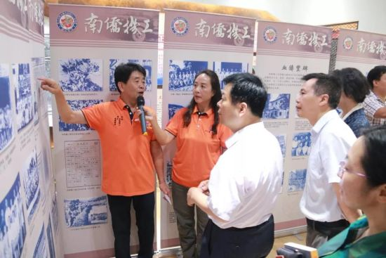 南昌青山湖举办纪念南洋华侨机工回国抗战80周年图片展