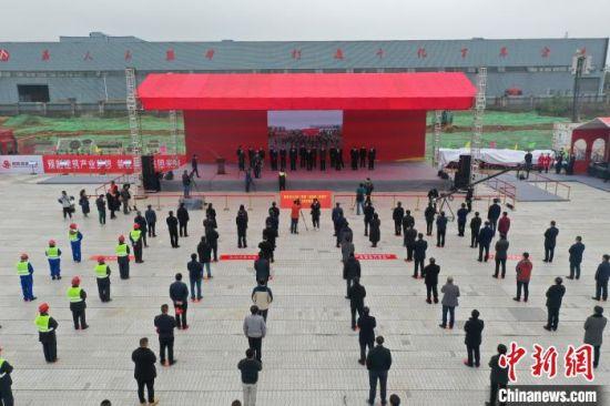 江西南昌129个重大重点项目集中开工 总投资超千亿元