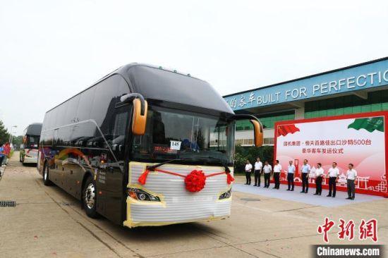 江西成功交付今年首批500辆海外客车订单