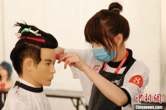 全国美发美容行业职业技能总决赛江西举行