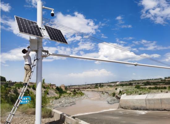 扬帆公司新疆呼图壁河项目施工现场