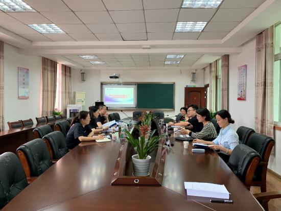 九江小学迎接市教育局党建工作考核组检查