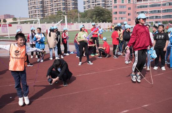 江西省首届残疾人文化艺术节趣味运动会欢乐开赛