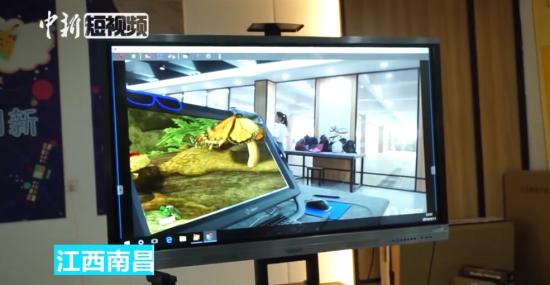 注册送白菜网最全送彩金白菜网站:VR技术走进课堂 好想回去再上次小学!