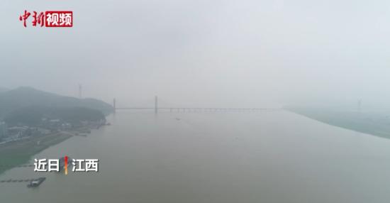 """江(jiang)西(xi)進入主(zhu)汛期 鄱陽湖(hu)日漸""""發福"""""""