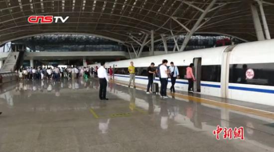 武九高铁全线开通运营 江西进京高铁最快刷新至6小时