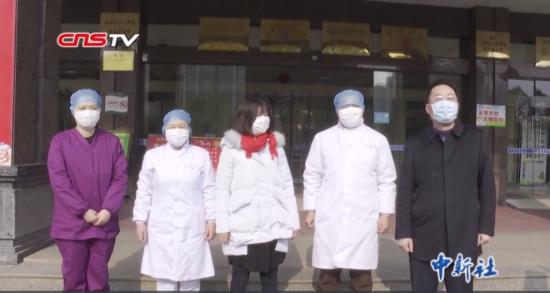 江西省首例由(you)縣級醫院收治新型肺炎患者治愈出院