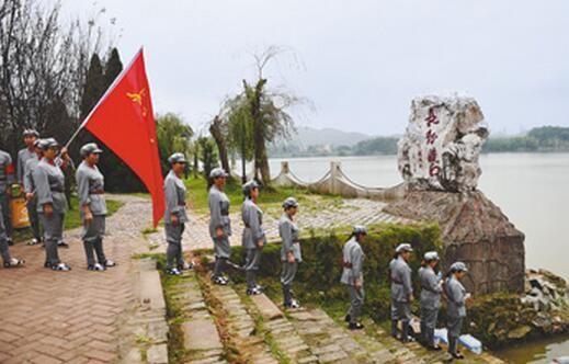 纪念红军长征胜利八十周年(图)