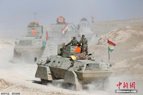 伊拉克收复摩苏尔战役打响