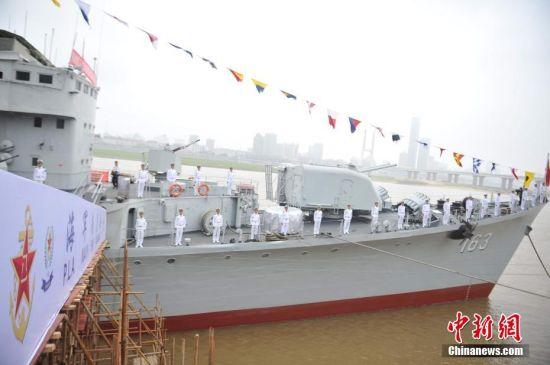 """退役导弹驱逐舰""""龙8国际娱乐网址舰""""整修一新"""