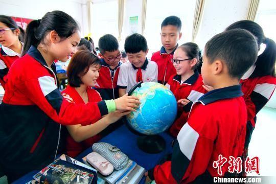 """九江""""世界地球日""""活动 引导学生爱护地球"""