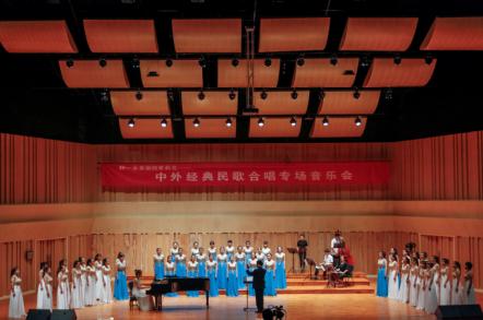 华东交大举办《中外经典民歌合唱音乐会》