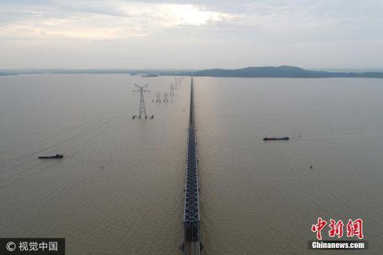 龙8国际娱乐手机登录九江鄱阳湖达今年入汛以来最高水位