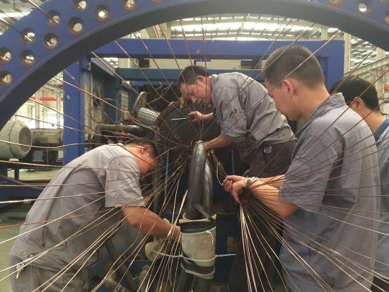 安源管道公司生产车间维修班组