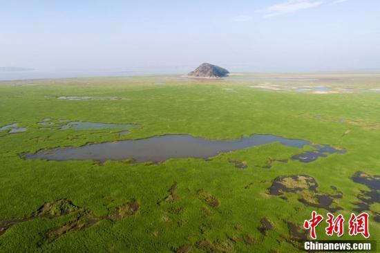 鄱阳湖水位跌破12米 提前进入枯水期