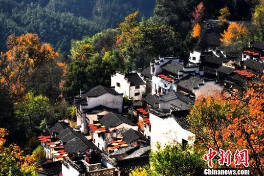 中国最美乡村龙8国际娱乐手机登录婺源风景美如画
