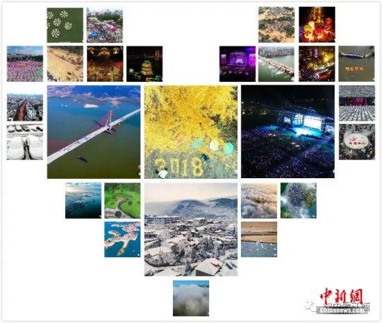 『鸟瞰2018』| 空中看2018新开户送体验金