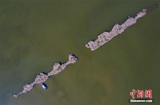 仙女湖水位持續走低 明代萬年橋