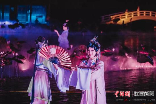 中惠旅簽約江西(xi)撫州《尋夢牡(mu)丹(dan)亭(ting)》