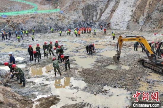 江西鹰潭最大水利民生工程进入主体施工阶段