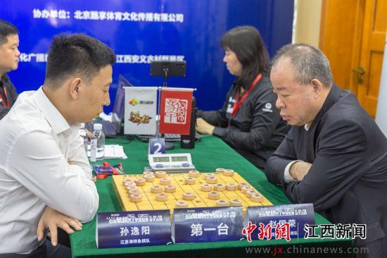 众多男子象棋高手齐聚南昌安义展开竞赛博弈