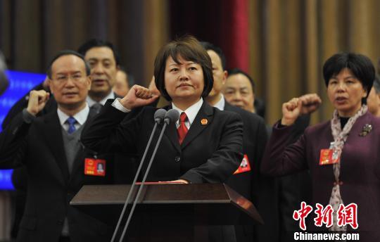 葛晓燕当选龙8国际娱乐手机登录省高级人民法院院长